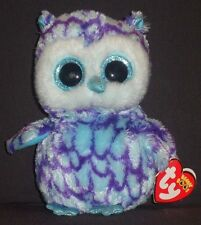 "TY BEANIE BOOS - OSCAR the 6"" OWL with TAG - SEE ALL PICS"