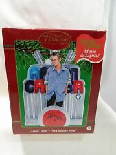 2002 Carlton Cards Aaron Carter The Clapping Song Music and Lights!