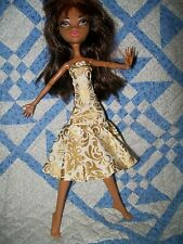 Handmade Dress for Monster High - Clothes Only Doll Not Included #R12