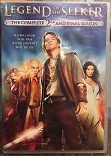 Legend of the Seeker: Season 2 Brand New Sealed Free Shipping!