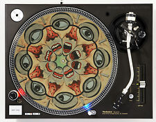 DJ INDUSTRIES - Phenakistoscope-4 - DJ SLIPMATS (1 PAIR) 1200's or any turntable
