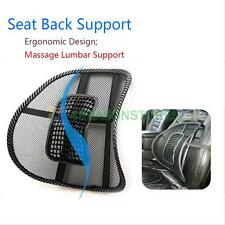 Mesh Lumbar Lower Back Support Cushion Pain Relief Car Seat Chair Office Seat #4