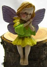 Garden Fairy Figurine Ganz Fairy Wings Outdoor Fantasy Mini Nature Plant Flower