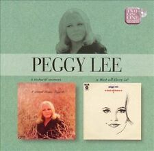 Natural Woman/Is That All There Is? by Peggy Lee  ~ New / Sealed ~ UK import