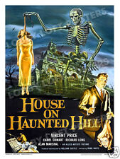 HOUSE ON HAUNTED HILL LOBBY CARD POSTER OS 1959 VINCENT PRICE WILLIAM CASTLE