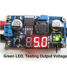 LM2596 Buck Step-down Power Converter Module DC 4.0~40 to 1.3-37VLED Voltmeter