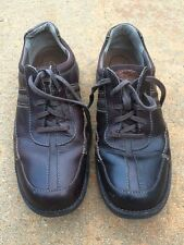 Mens Clarks Brown Leather Comfort Lace Up Loafers 12M Oxfords Casual Shoes