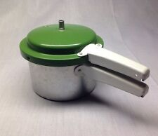 Vintage, Child's Toy, Pressure Cooker, Aluminum, Play Kitchen