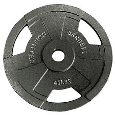 Champion Barbell Olympic Grip Plate 45LB