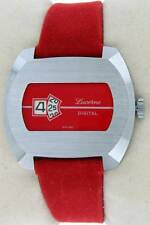 "Vintage Digital ""Jump Hour "" Swiss Watch 1970 new old stock NOS"