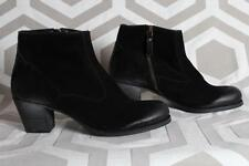 NIB N.D.C. made by hand Em R Softy Nero Leather Booties Euro 38 $565 Boots