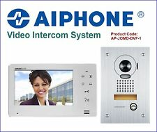 """Aiphone 7"""" Colour Video Intercom System with Stainless Steel Camera Door Station"""