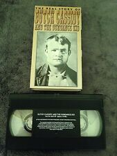 The Real Story of Butch Cassidy and the Sundance Kid (1993) - VHS Video Tape