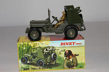 1960's French Dinky #828 Rocket Carrier Jeep, Nice with Original Box, Lot #6