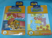 Leap Frog Educational Game Books & Cartridges - Lot #3