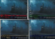 Harry Potter Prisoner of Azkaban Update 16 Card Blue/Red/Green/Gold Promo Set
