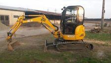 JCB 8027Z 8032Z Mini Excavator Workshop Service Manual