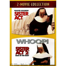 Catholic Convent Comedy Sister Act & Sequel Sister Act 2 Two DVD Double Feature