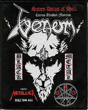 Venom Live patch Cronos Abbadon Mantas Baphomet Bathory Black Metal Metallica