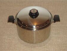 HUGE WEST BEND / KARENWARE / TIME-O-MATIC WATERLESS COOKWARE NEW 16 QT STOCK POT