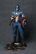 1:6 HOT TOYS The First Avenger CAPTAIN AMERICA ACTION FIGURE MMS156