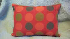Maharam  PLURAL Orange Modern Mid Century Contemporary Pillow