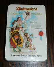 NEW Sealed Deck Anheuser Busch Budweiser Beer Greatest Triumph Playing Cards