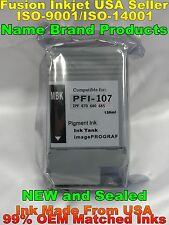 PFI-107 mbk matte black ink cartridge for canon ipf 670 680 685 770 780 785 zz