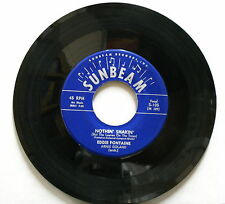 EDDIE FONTAINE Nothin' Shakin' Sunbeam 45 S-105 Rockabilly *LISTEN*