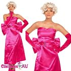 Ladies 1950s 50s Costume Hollywood Star Marilyn Monroe Fancy Dress Party outfit