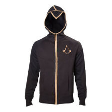 NEW! Assassin's Creed Male Syndicate Bronze Brotherhood Crest Zip Hoodie Large