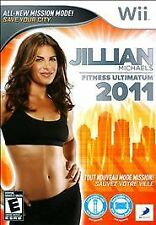 Jillian Michaels Fitness Ultimatum 2011 game for Nintendo Wii -Complete *WOW*