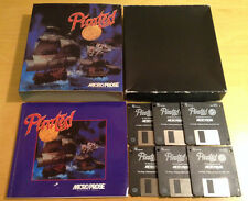 """PIRATES GOLD 3.5"""" BIG BOX VERSION for PC COMPLETE by Micro Prose"""