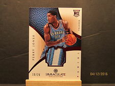 2012-13 Immaculate Collection Rookie Red #190 Perry Jones SN 19/25