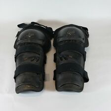 Fox Racing Sport Knee Shin Guards Off Road Motocross (Adult One Size) Large