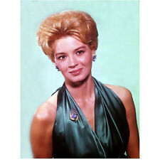 Angie Dickinson Head Shot Wearing Green with Nice Smile 8 x 10 inch photo