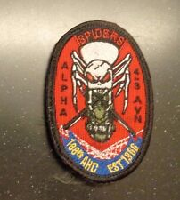 ARMY AVIATION PATCH,A CO,4TH BN,3RD AVN RGT, 188TH AHC, SPIDERS,COLOR W/VELCRO