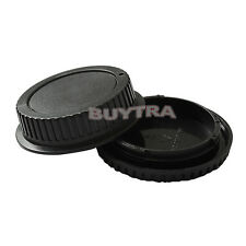 Pop Body Cover+Lens Rear Cap for CANON EF Camera and Lens Protect Nice RD