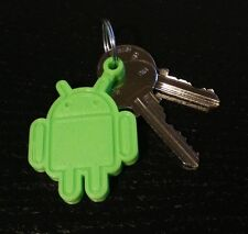 Android Robot 3D Printed Keychain