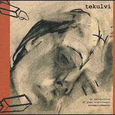 FREE US SH (int'l sh=$0-$3) NEW CD Tekulvi: In Recognition of Your Significant A