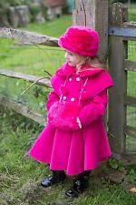 Couche Coat With Hat And Hand Muff 12-18 Months