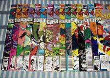 The Amazing Spider-Man Lot of 15 Comic Books between #334 to #349 from 1989 up