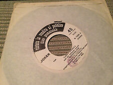 "LARRY NOCELLA & HIN INTIMATE SOUND / MARSIUS 7"" SINGLE ITALY JAZZ FUNK"