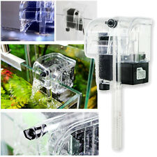 120L/H 220V Biological Aquarium Water Fall Hang On Slim Filter For Fish Tank