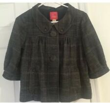 Urban Outfitters Plaid Lux 3/4 Sleeve Jacket, Poncho Sz Small- EUC