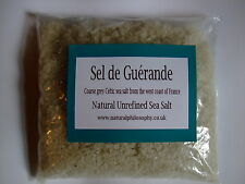 Unrefined Natural Sea Salt - 220g - Celtic Sea Salt - Sel de Guérande