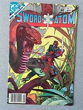 SWORD OF THE ATOM ISSUE #1 DC COMICS 1983 GIL KANE and JAN STRNAD