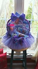 Frozen Tutu Gift Basket Made By Norma's Unique Gift Basket