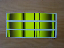 arrow wraps TRADITIONAL 13 PACK FLO YELLOW WITH CRESTING BARS BANDS