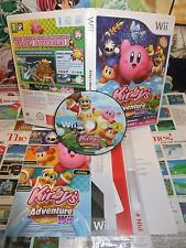 Nintendo Wii:Kirby's Adventure [TOP & 1ERE EDITION RARE] COMPLET - Fr